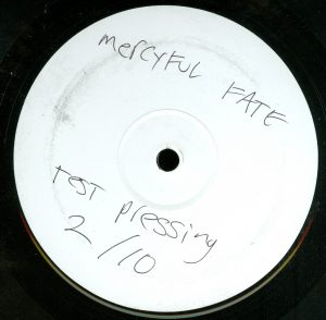 Mercyful Fate Nuns For Slaughter Test Pressing a side