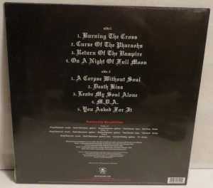 Mercyful Fate Return Of The Vampire 2014 press white  back