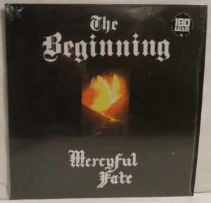 Mercyful Fate The Beginning 2015 press Orange Vinyl