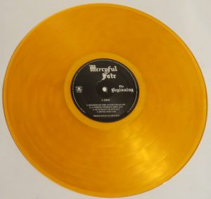 Mercyful Fate The Beginning 2015 press Orange Vinyl side a
