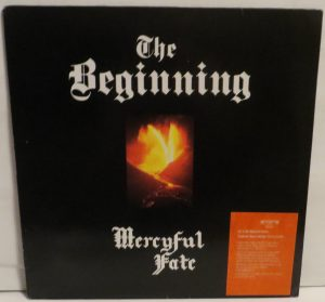 Mercyful Fate The Beginning Spanish promo sheet