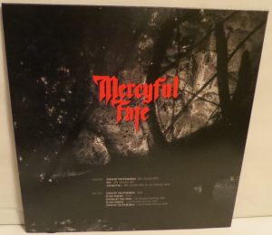 Mercyful Fate The Curse Is On You Red back