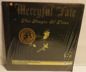 Mercyful Fate The Magic Of Time Orange Vinyl