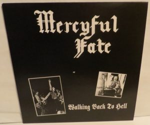 Mercyful Fate Walking Back To Hell Smokey Transparent Black