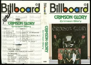Crimson Glory Crimson Glory Indonesian cover