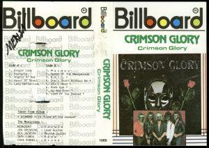 Crimson Glory Crimson Glory Indonesian cover