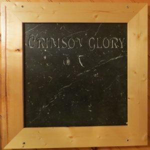 Crimson Glory Black Marble
