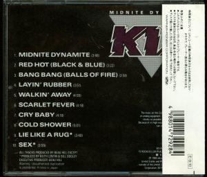 Kix Midnite Dynamite Japan CD